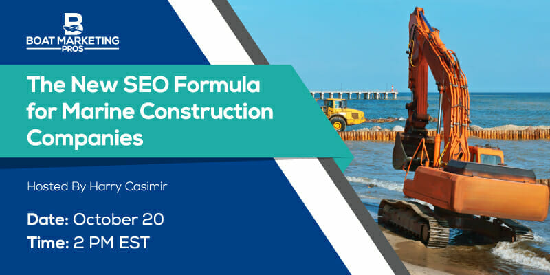 The New SEO Formula for Marine Construction Companies